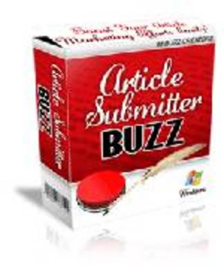 Product picture Article Submitter Buzz