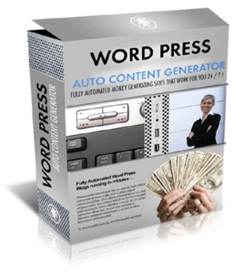 Product picture Wordpress Auto Content Generator
