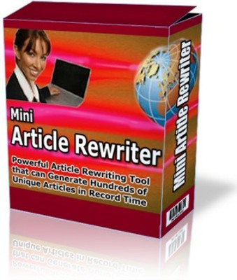 Product picture Mini Article Rewriter
