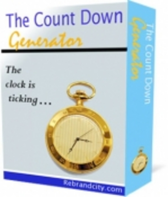 Product picture The Count Down Generator