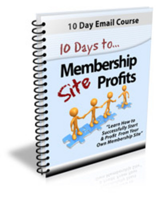 Product picture 10 Days To Membership Profit